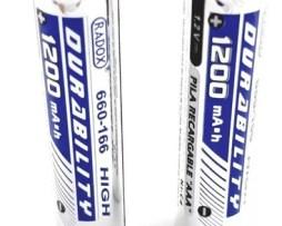 Baterias Aaa Recargables 1200mah Paquete De 2 660-680