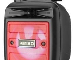 Bocina Kimiso Kms-1181 Portátil Con Bluetooth Roja