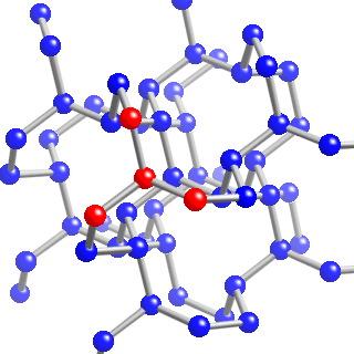 Single-bonded cubic form of nitrogen
