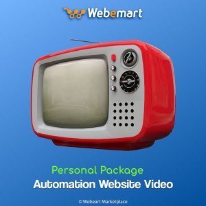 Automation Website Video Sharing CMS Personal Package