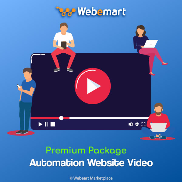 Automation Website Video Sharing CMS Premium Package