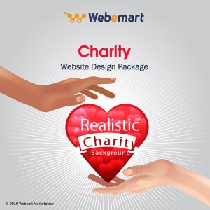 Charity Website Design Package Webemart Marketplace