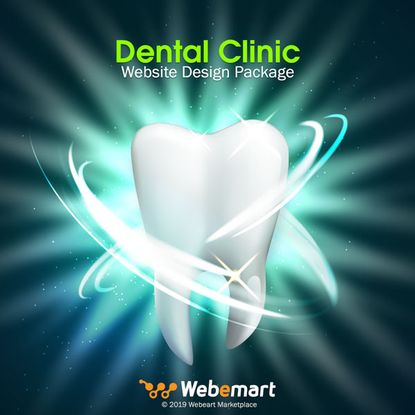 Dental Clinic Website Design Package Webemart Marketplace
