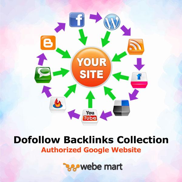 Dofollow Authorized Google Domain Authority Backlinks Collection