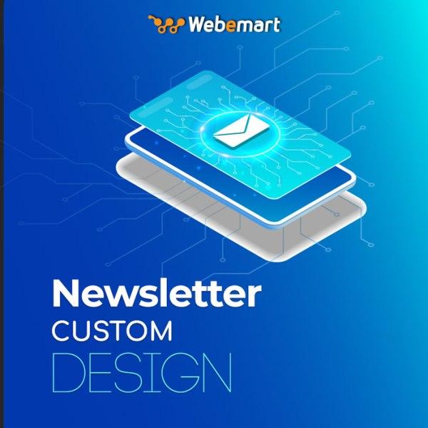 Newsletter Custom Design