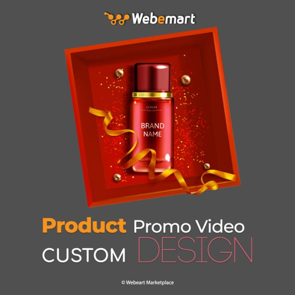 Product Promo Video Custom Design