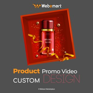 Product Promo Video Custom Design