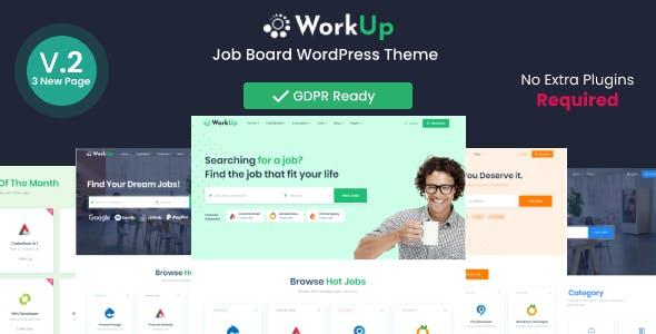 Workup – Job Board WordPress Theme