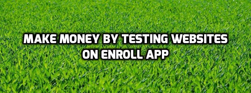 Kayıt uygulama web sitelerini test ederek para kazanın