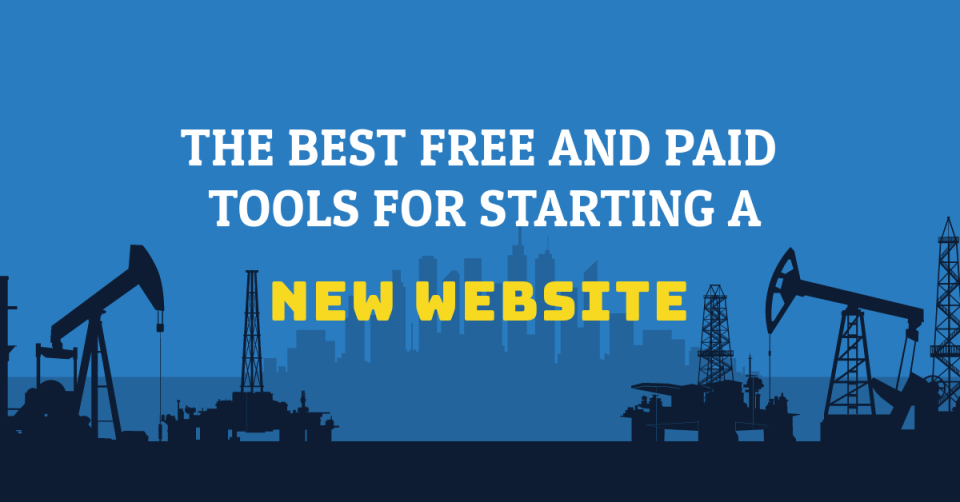 Useful free and paid tools for starting a new website