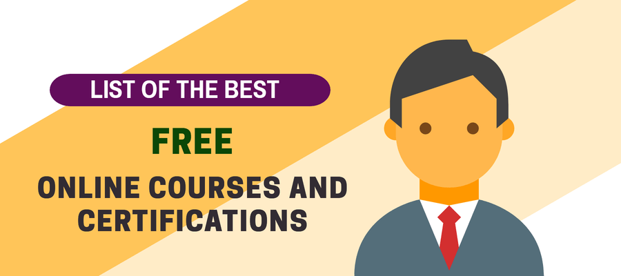 32 Free Online Courses And Certifcations To Earn In 2019