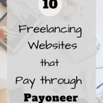 Freelance websites that pay through Payoneer