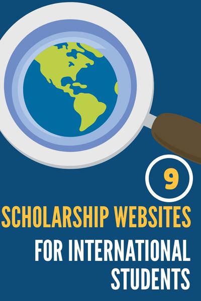 Scholarship websites for International Students