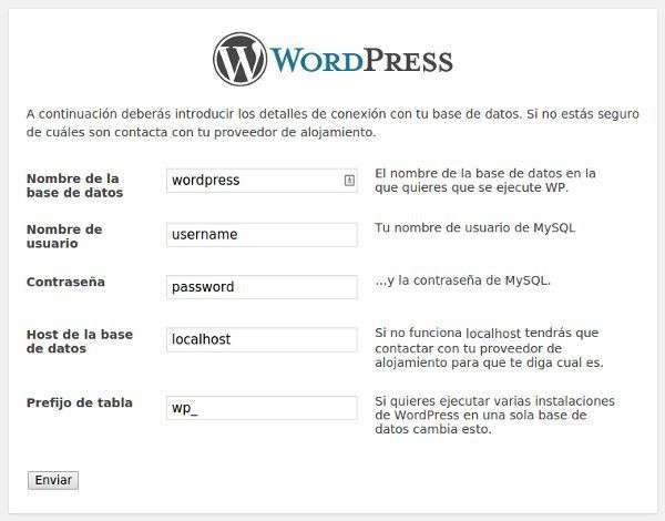 como instalar wordpress