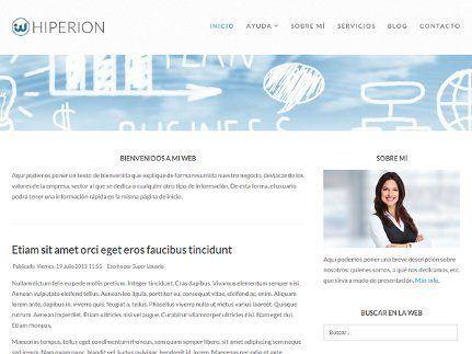 ejemplo blog wordpress