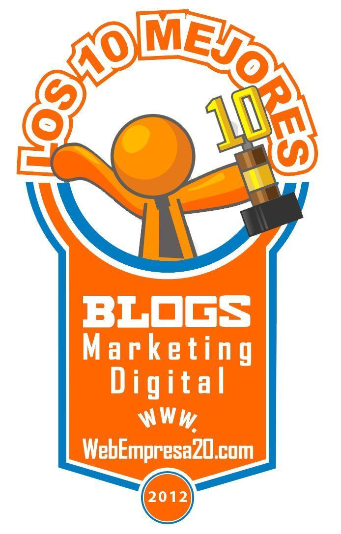 "2º Concurso: ""Los 10 mejores blogs de Marketing Digital"". Vota tu blog favorito."
