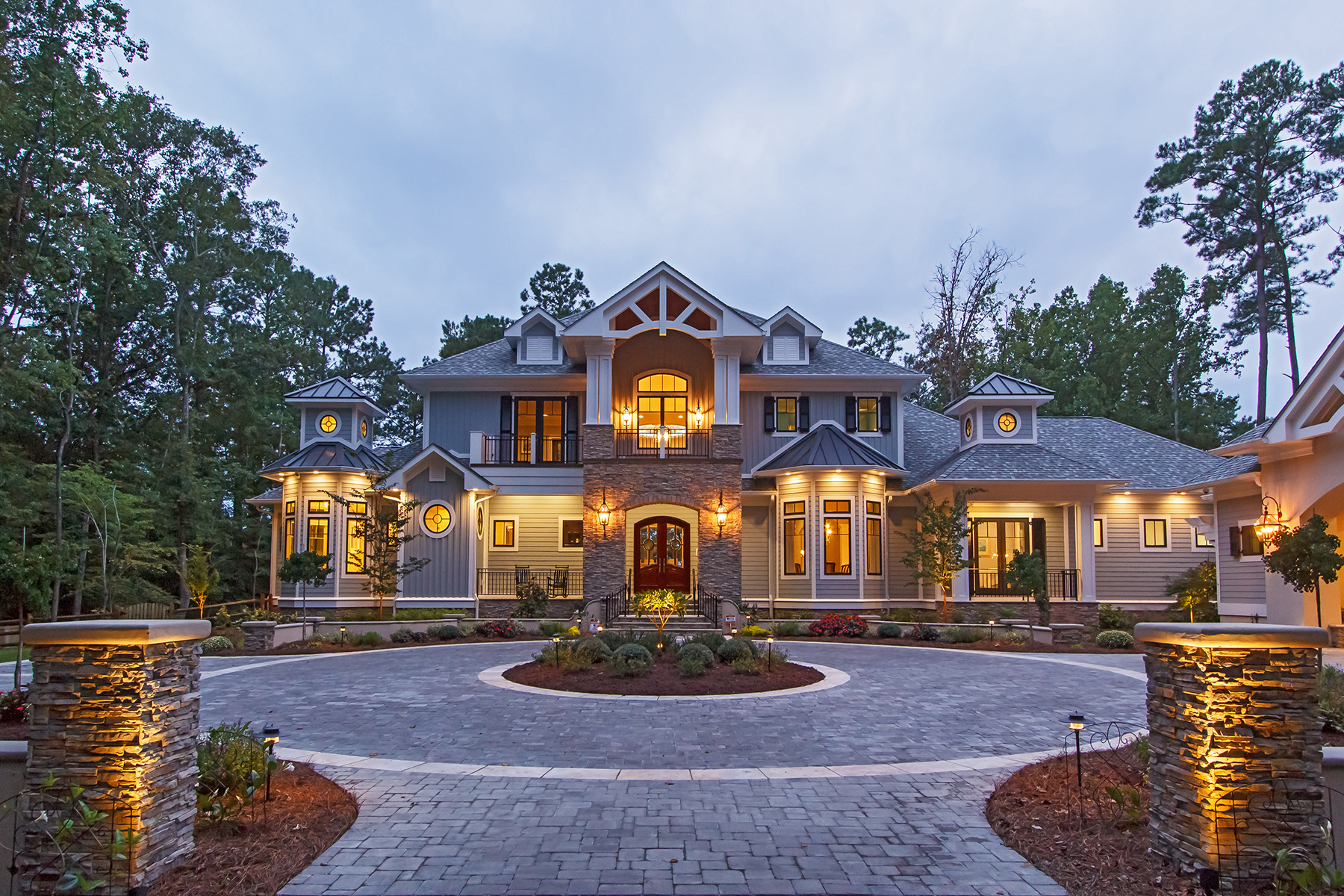 Coastal Inspired Low Country Weber Design Group Naples