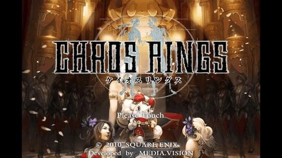 iPhoneゲーム『CHAOS RINGS(ケイオスリングス)』