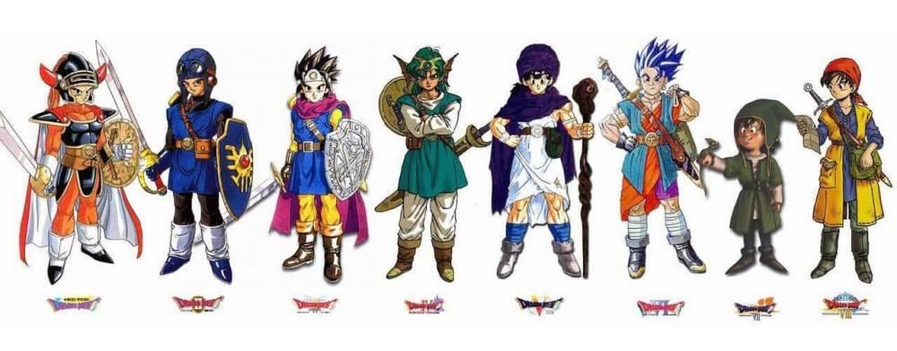 「ドラゴンクエストシリーズ」歴代勇者一覧画像