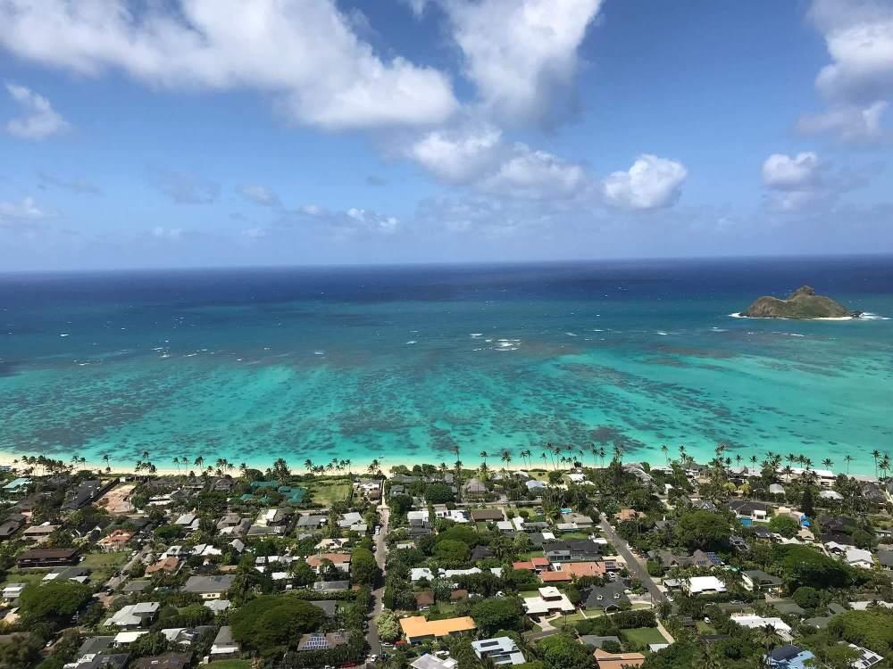 ハワイのラニカイピルボックストレイル