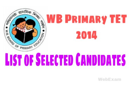 Primary TET 2014 Appointment Date