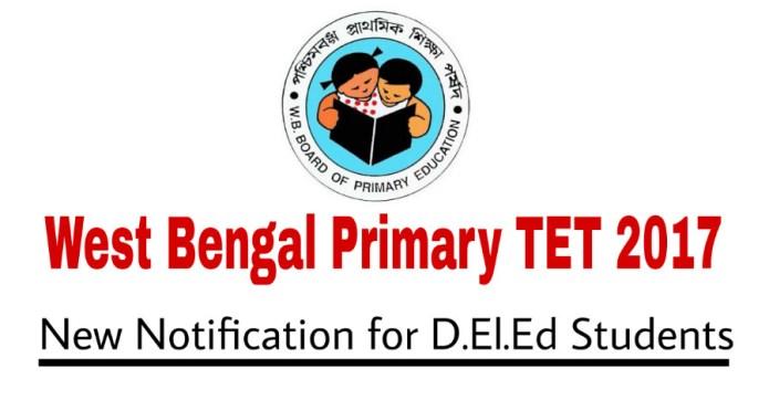 WB Primary TET 2017
