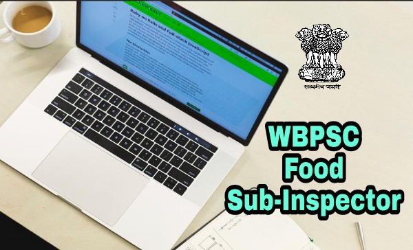WBPSC Food Sub Inspector Exam