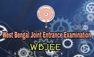 WBJEE 2020 Examination