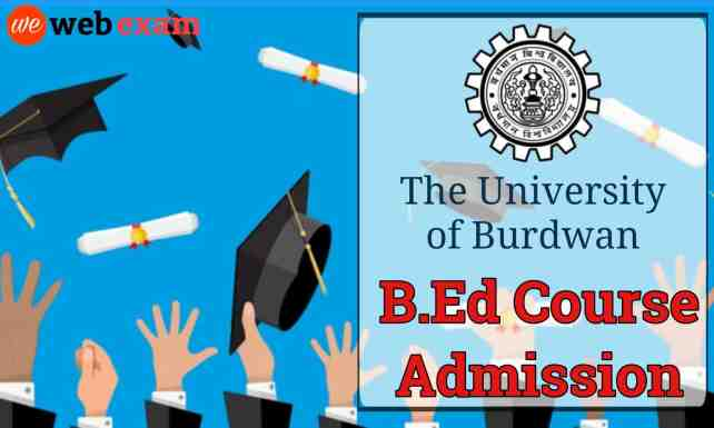 Burdwan University B.Ed Admission
