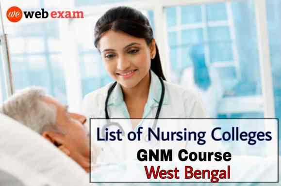 GNM Nursing Colleges in West Bengal