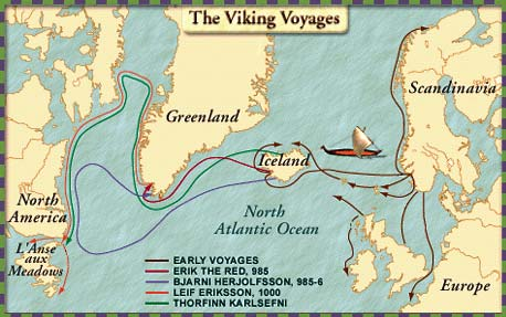 Image result for map vikings