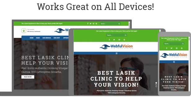 Optometrist WordPress Theme - Best WP Theme for Optometry, Optician Store