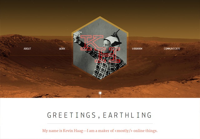 Portfolio website: Kevin Haag