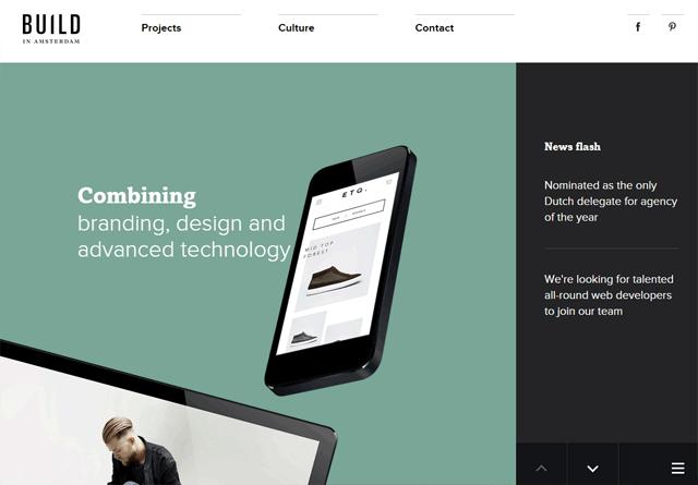 Portfolio website: Build in Amsterdam