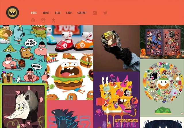 Portfolio website: The Beast Is Back Inc