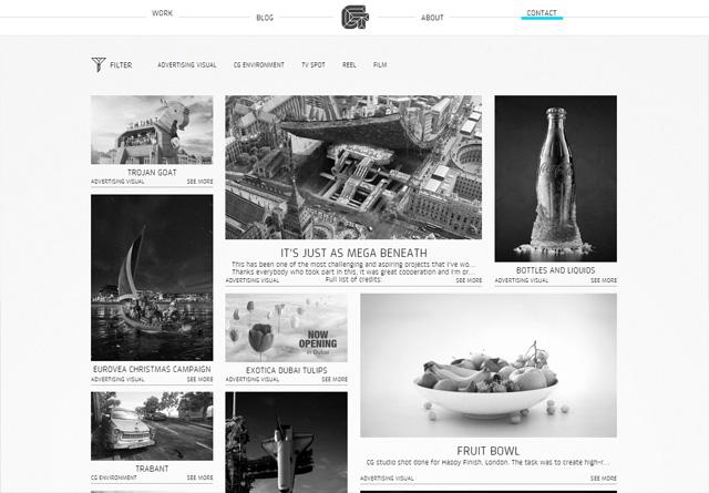 Portfolio website: GODE