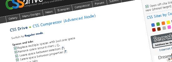 Galeri Drive CSS- Kompresor CSS - tangkapan layar.