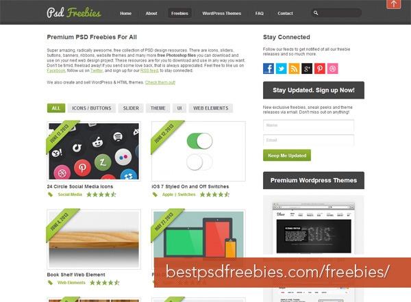 Best PSD Freebies