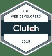 Clutch Web Developers Award