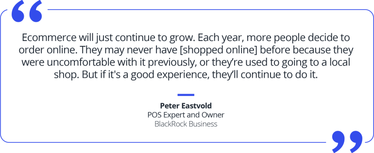 Webgility big year for ecommerce pull quote