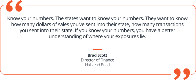 Know your numbers to manage sales tax chaos