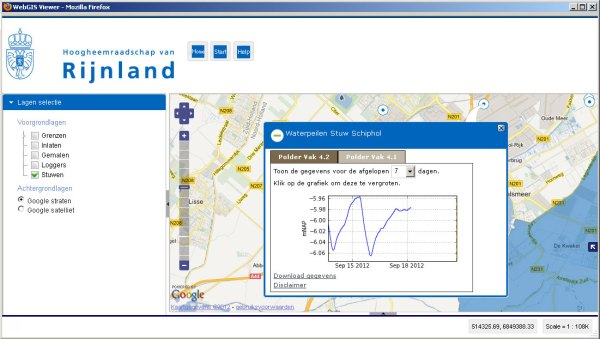 kaart toepassingen met sensordata