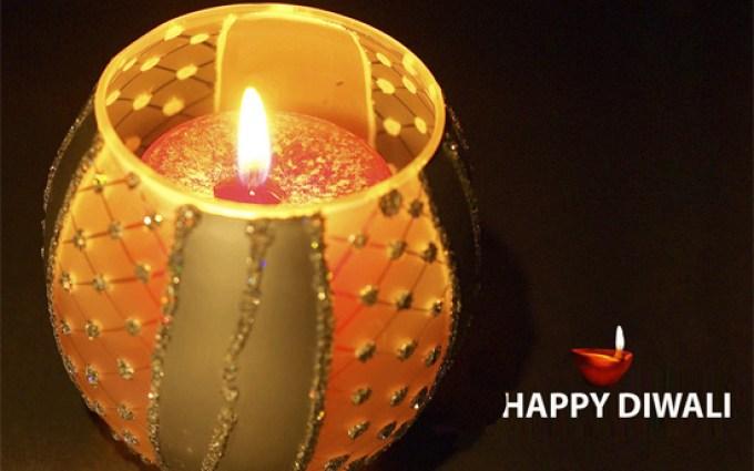 Diwali Candle Wallpaper