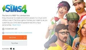 The Sims 4 Kısa Süreliğine Origin' de Ücretsiz!
