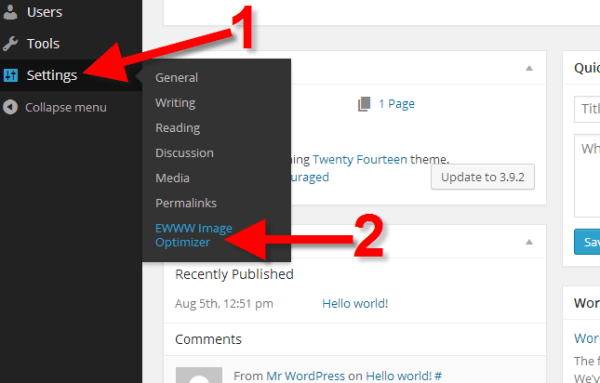 How to Optimize WordPress images with the EWWW Image ...