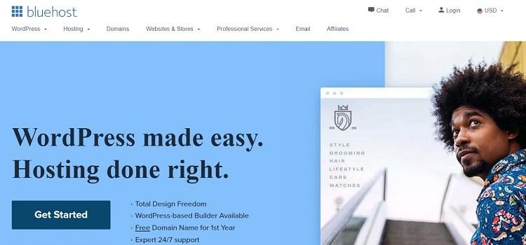 Bluehost for non profit websites