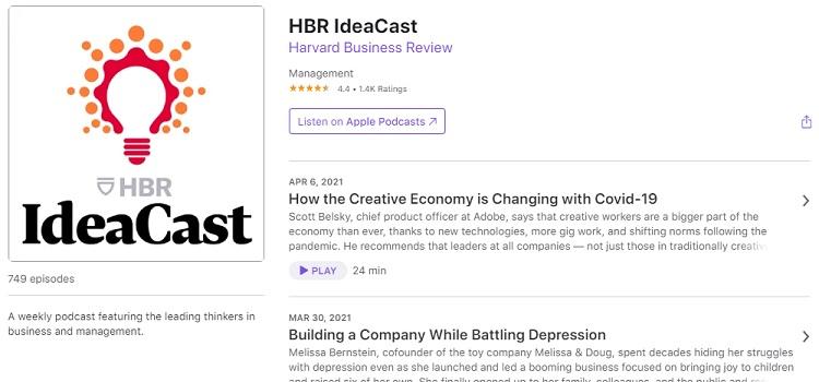 Business Podcast - HBR IdeaCast