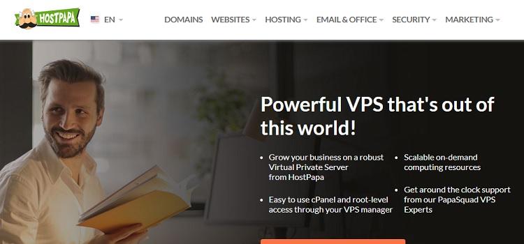HostPapa VPS Hosting