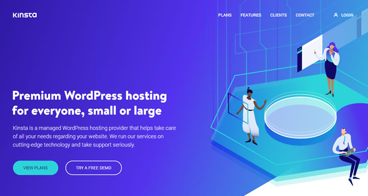 Driving their plans on the Google Cloud Platform, Kinsta is both highly effective and scalable as well.