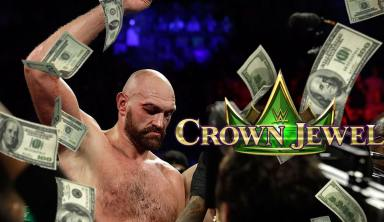 Tyson Fury's WWE Payoff For Crown Jewel Will Be Largest In Wrestling History